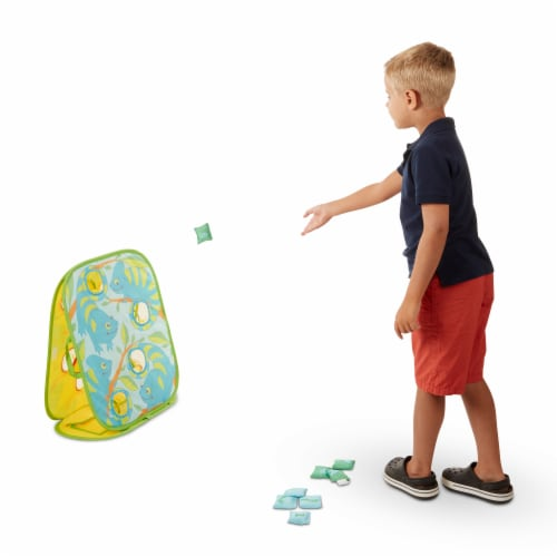 Melissa & Doug® Came Chameleon Bean Bag Toss Game Perspective: top