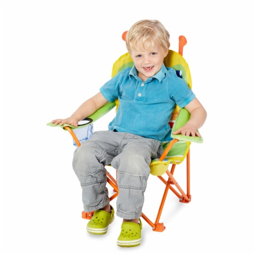 Melissa & Doug® Giddy Buggy Camp Chair Perspective: top