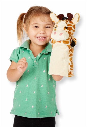 Melissa & Doug® Zoo Friends Hand Puppets Perspective: top