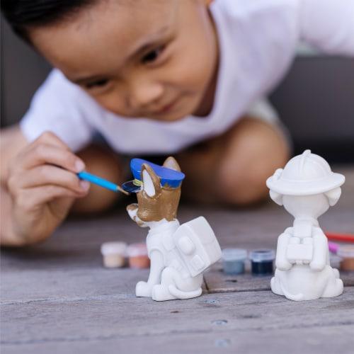 Melissa & Doug Paw Patrol Craft Pup Figurines Perspective: top