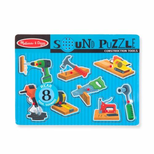 Melissa & Doug® Wooden Peg Puzzle Set Perspective: top