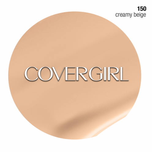 Cover Girl Clean Normal Skin 150 Creamy Beige Foundation Perspective: top