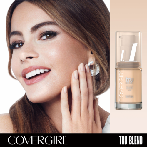 CoverGirl TruBlend L1 Ivory Foundation Perspective: top