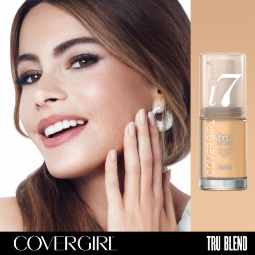 CoverGirl TruBlend L7 Warm Beige Foundation Perspective: top