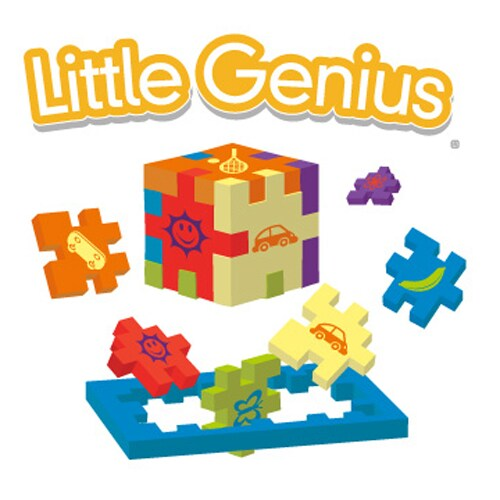 Little Genius Foam Puzzle Single Pack - Color may vary Perspective: top