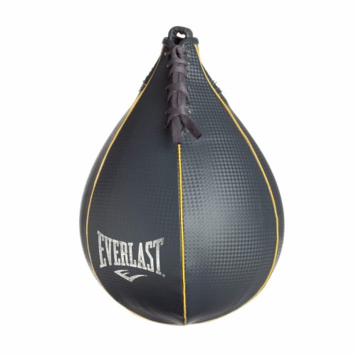 Everlast 3 Piece Set 100 Pound Heavy Bag, Speed Bag and Double End Bag Perspective: top