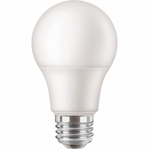 Do it 60W Equivalent Soft White A19 Medium LED Light Bulb (10-Pack) 362038 Perspective: top