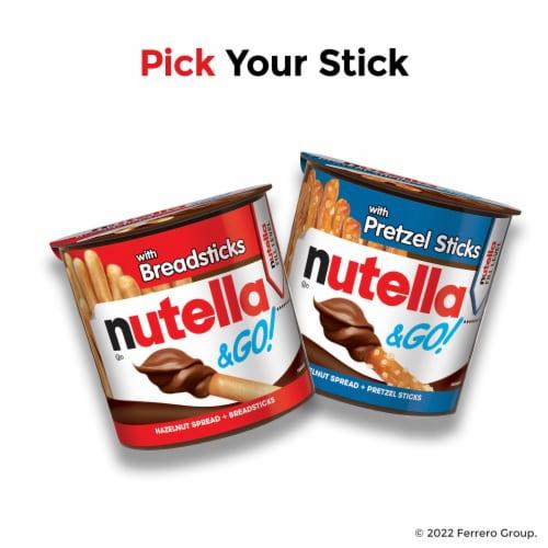 Nutella & Go! Hazelnut Spread + Breadsticks Perspective: top