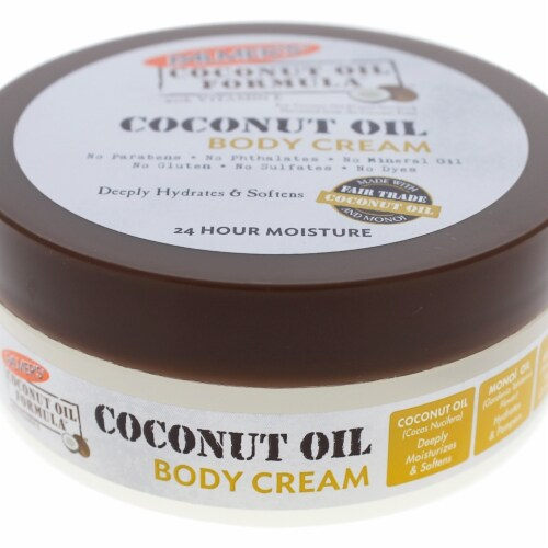 Coconut Oil Body Cream by Palmers for Unisex - 4.4 oz Body Cream Perspective: top