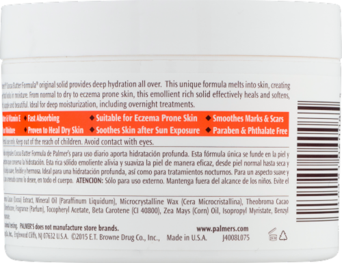 Palmer's Cocoa Butter with Vitamins E Daily Skin Therapy Perspective: top