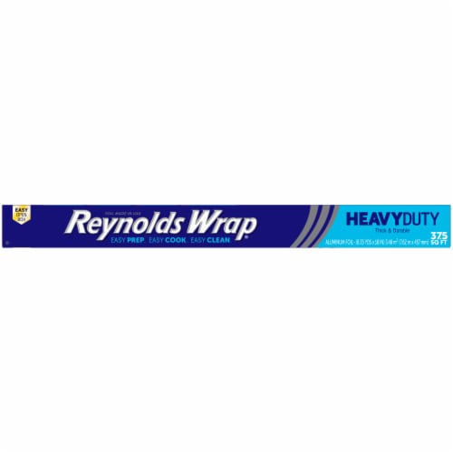 Reynolds Wrap Heavy Duty Aluminum Foil Perspective: top