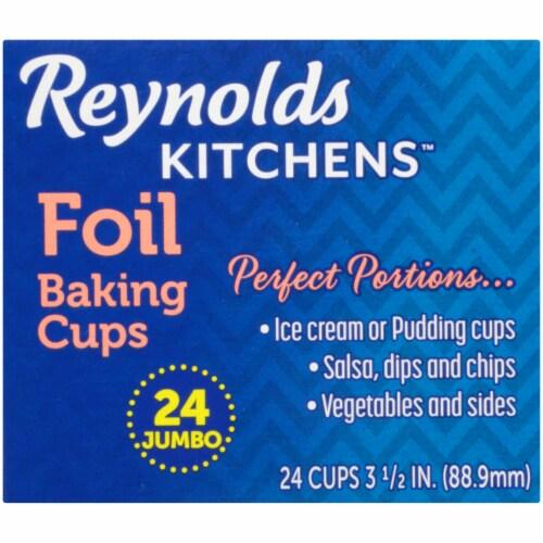 Reynolds Wrap Jumbo Foil Baking Cups Perspective: top