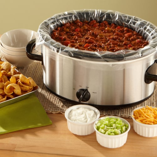 Reynolds Kitchens Slow Cooker Liners Perspective: top