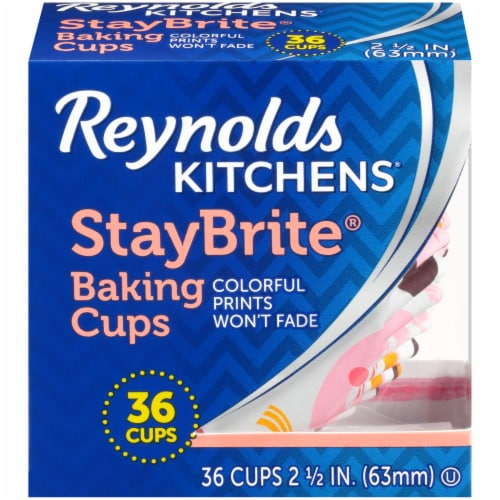 Reynolds StayBrite Baking Cups Perspective: top