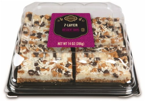 Private Selection® 7-Layer Dessert Bars Perspective: top