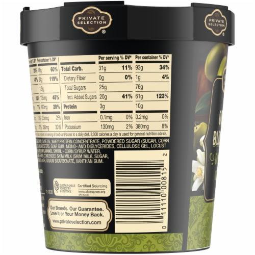 Private Selection Orange Blosson Olive Oil Ice Cream Perspective: top