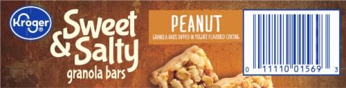 Kroger® Sweet & Salty Peanut Granola Bars Perspective: top