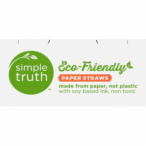 Simple Truth™ Eco Friendly Paper Straws Perspective: top