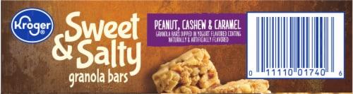 Kroger® Sweet & Salty Peanut Cashew & Caramel Granola Bars Perspective: top