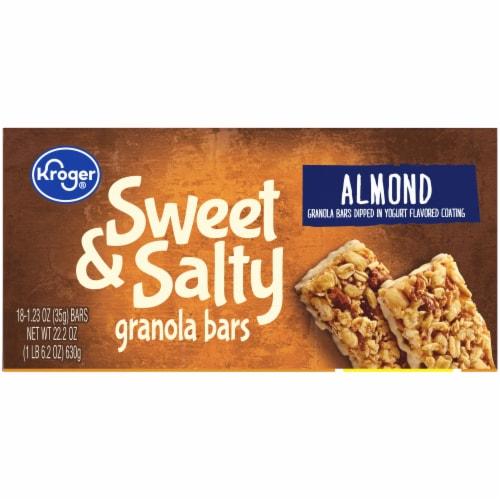 Kroger® Sweet & Salty Almond Granola Bars Perspective: top