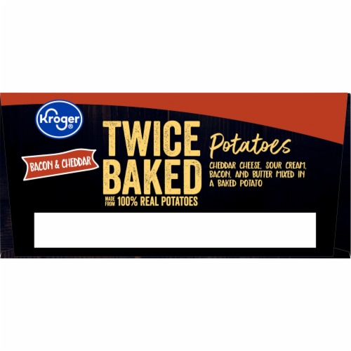 Kroger® Bacon & Cheddar Twice Baked Potatoes Perspective: top