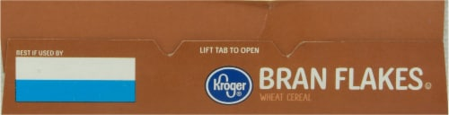 Kroger® Bran Flakes Wheat Cereal Perspective: top
