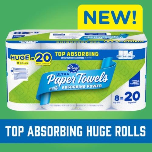 Kroger® Select-A-Sheet Paper Towels Perspective: top