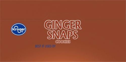 Kroger® Ginger Snaps Cookies Perspective: top