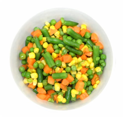 Simple Truth Organic® Fresh Frozen Mixed Vegetables Perspective: top
