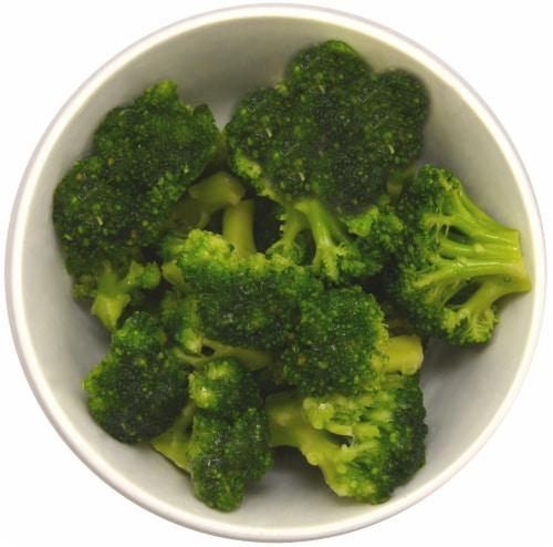 Simple Truth Organic® Freshly Frozen Broccoli Florets Perspective: top
