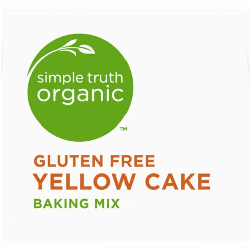 Simple Truth Organic™ Gluten Free Yellow Cake Baking Mix Perspective: top