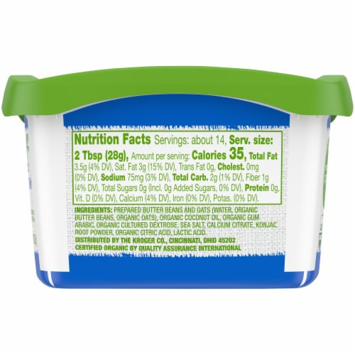 Simple Truth Organic™ Gluten Free Non-Dairy Sour Cream Perspective: top