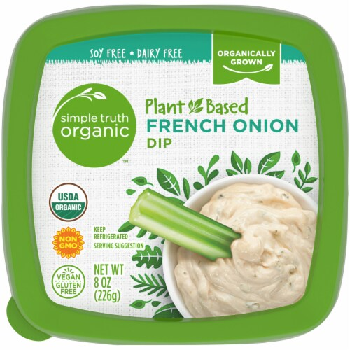 Simple Truth Organic™ Plant-Based French Onion Dip Perspective: top