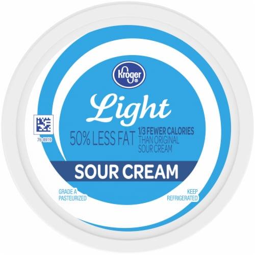 Kroger® Light Sour Cream Perspective: top