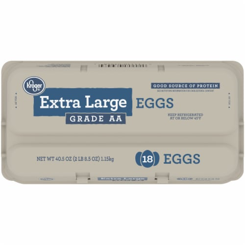 Kroger® Grade AA Extra Large Eggs Perspective: top