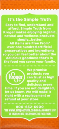 Simple Truth Organic™ Almond Extract Perspective: top
