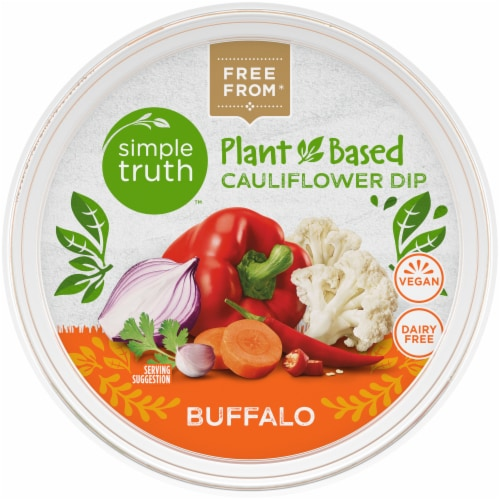 Simple Truth™ Plant-Based Buffalo Cauliflower Dip Perspective: top