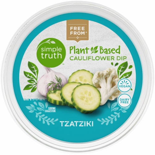 Simple Truth™ Plant Based Tzatziki Cauliflower Dip Perspective: top