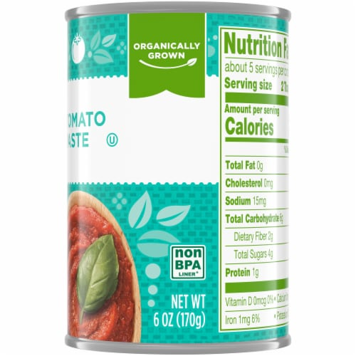Simple Truth Organic™ Tomato Paste Perspective: top