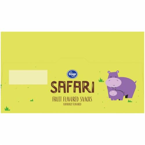 Kroger® Safari Fruit Flavored Snacks Perspective: top
