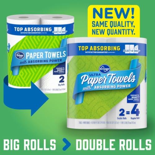 Kroger® Ultra Paper Towels Perspective: top