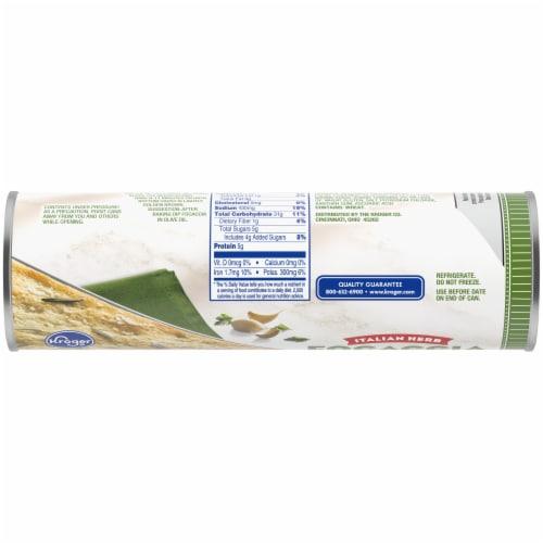 Kroger® Italian Herb Focaccia Dough Perspective: top