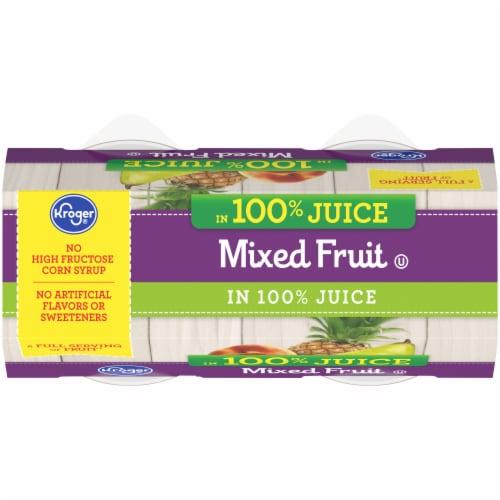 Kroger® Mixed Fruit in 100% Juice Perspective: top