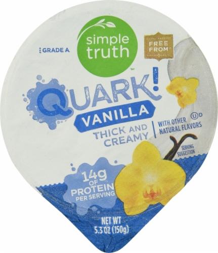 Simple Truth™ Quark! Vanilla Yogurt Perspective: top