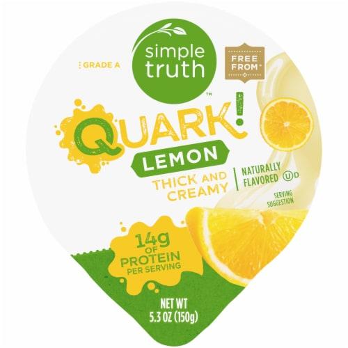 Simple Truth™ Quark! Lemon Yogurt Perspective: top
