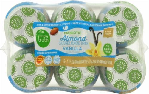 Simple Truth™ Vanilla Probiotic Almondmilk Perspective: top