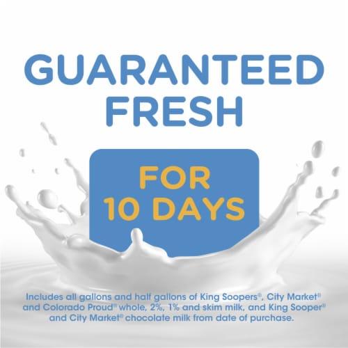 Kroger® Carbmaster® Lactose Free Non-Fat Vanilla Milk Beverage Perspective: top