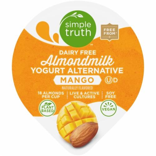 Simple Truth™ Dairy Free Mango Almondmilk Yogurt Alternative Perspective: top