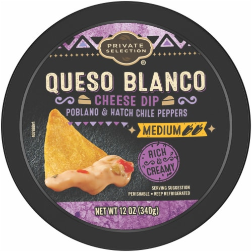 Private Selection® Medium Queso Blanco Cheese Dip Perspective: top