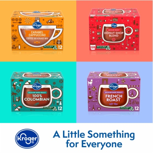 Kroger® Single Serve Coffee K-Cup Pods Variety Pack Perspective: top